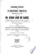 Vida del V.P.Fr. Diego José de Cádiz