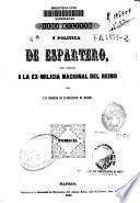 Vida militar y política de Espartero