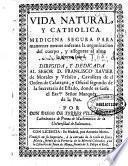 Vida natural y catholica