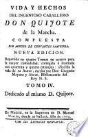 Vida y hechos del ingenioso caballero don Quijote de la Mancha,4