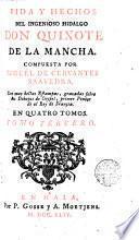Vida y hechos del ingenioso hidalgo don Quixote de la Mancha,3