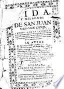 Vida y milagros de San Juan Nepomuceno