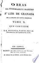Vida y virtudes del venerable varon el Padre Maestro Fra Luís de Granada