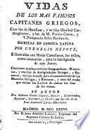 Vidas de los más famosos capitanes griegos ...