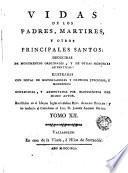 Vidas de los Padres Martires y otros principales santos, 12