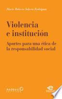 Violencia e institución