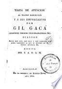 Visita de atención al Teatro Barcelonés y a sus empresarios por Gil Gaca