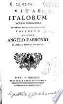 Vitae italorum doctrina excellentium qui saeculis XVII et XVIII floruerunt : volumen V