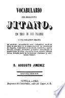 Vocabulario del dialecto Jitano
