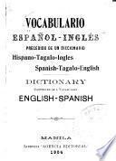 Vocabulario español-ingles