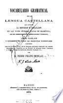 Vocabulario gramatical de la lengua castellana