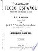Vocabulario Iloco-Espannol