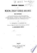 Vocabulario tecnológico de medicina, cirujía y ciencias auxiliares