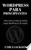 WordPress para principiantes.