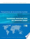 World Economic Outlook, April 2016