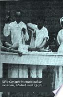 XIVe Congrès international de médecine, Madrid, avril 23-30, 1903 v. 9