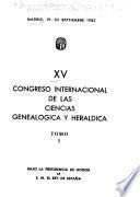 XV Congreso Internacional de las Ciencias Genealógica y Heráldica