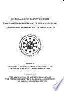 XVI Congreso Panamericano de Ferrocarriles