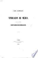 XXIV capítulos en vindicación de Méjico